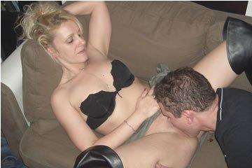 Reni - szexfotózás otthon hármasban