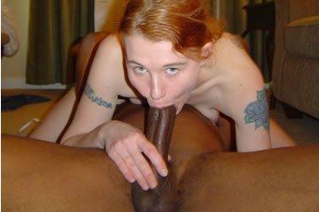 A fekete faszt szereti a kis vörös feleség