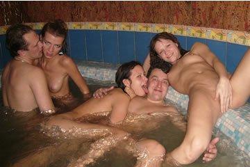 Szexbuli egy baráti társasággal