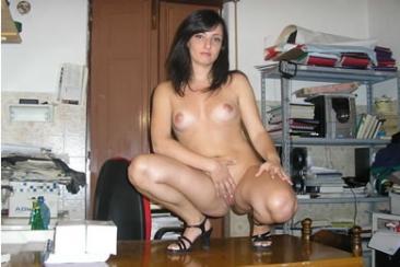 Irina - meztelen fotózás a pasimmal